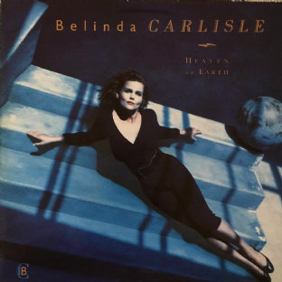 Belinda Carlisle ‎- Heaven On Earth (LP) (VG-/G+)